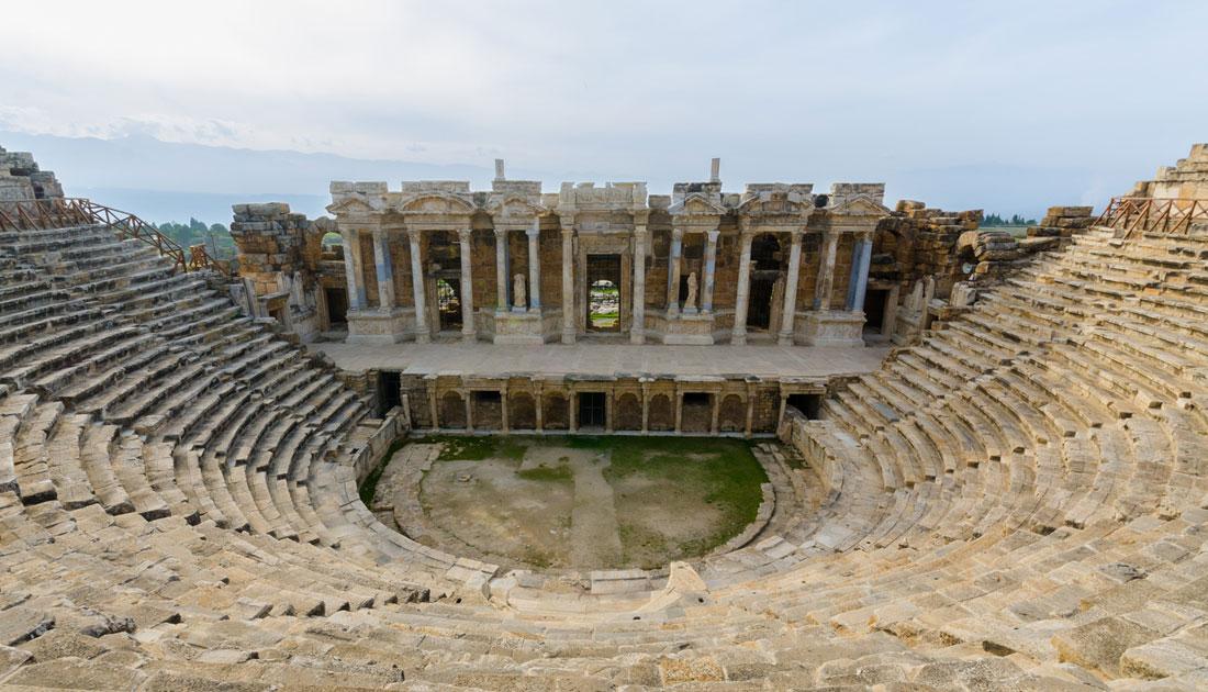 Auf deisem Bild sieht man ein Amphitheater